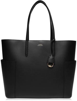 Lauren Ralph Lauren Dryden Large Leather Tote Bag