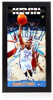 Steiner Sports Kevin Durant Oklahoma City Thunder Player Profile Wall Art