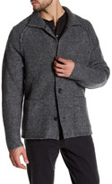 James Perse Funnel Neck Cardigan