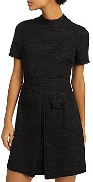 Reiss Jenny Tweed Mini Dress