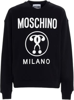 Moschino double Mark Question Sweatshirt