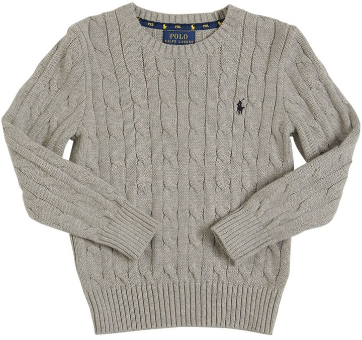 Sweater Cashmere Woolamp; Woolamp; Cable Cable Knit Cashmere DIW2HE9Y