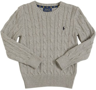 Ralph Lauren Wool & Cashmere Cable Knit Sweater