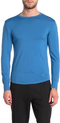Topo Designs Wool Blend Long Sleeve T-Shirt (Size Medium)