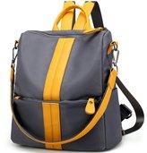 Luckysmile Women's Nylon Backpack Purse Travel School Work Rucksack Shoulder Bag