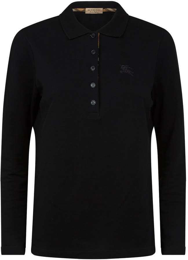 Burberry Equestrian Knight Polo Shirt