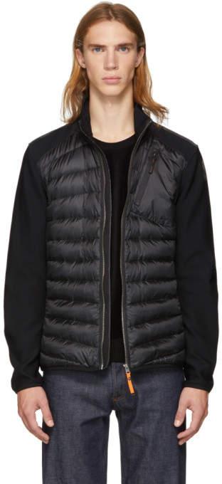Parajumpers Black Warm-Up Jayden Jacket