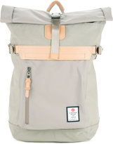 As2ov - folded top buckle backpack - men - Nylon - One Size