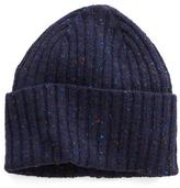Drakes Drake's Donegal Wool Hat in Navy