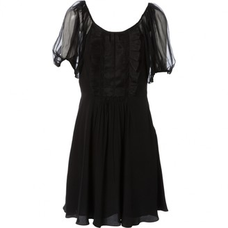 Prada Black Silk Dresses