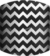 Asstd National Brand Black and White Chevron Drum Lamp Shade