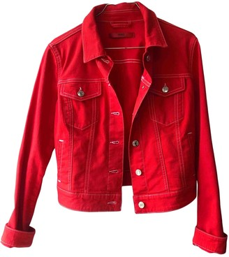 HUGO BOSS Red Denim - Jeans Jacket for Women