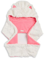 Capelli New York Plush Faux Fur Cat Hooded Scarf