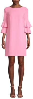 Trina Turk Leona Ruffle Sleeve Dress