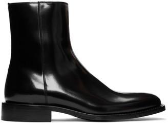 Balenciaga Black Rim Boots