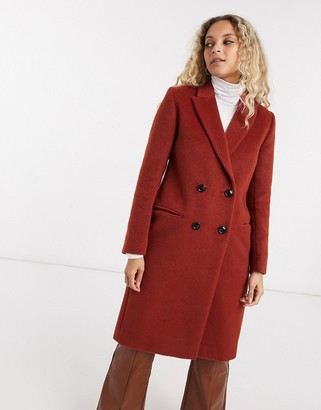 Gianni Feraud Ginger double-breasted overcoat