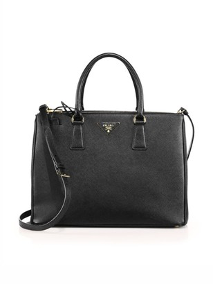 Prada Medium Galleria Leather Tote
