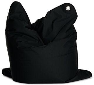 Sitting Bull The Bull Medium Large Bean Bag Chair & Lounger Upholstery Color: Black