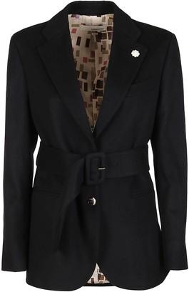 Lardini Black Cashmere Blazer