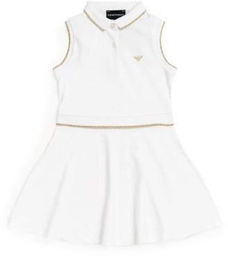 Emporio Armani Kids Sleeveless Tennis Dress