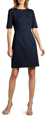 Trina Turk Short Sleeve A-Line Dress
