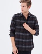 Long Sleeve Check Shacket Shirt