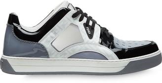 Fendi multicoloured lace-up sneakers