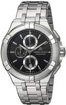 Maurice Lacroix Men's 'Aikon' Quartz Stainless Steel Casual Watch, Color:Silver-Toned (Model: AI1018-SS002-330-1)