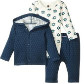 Tea Collection Blue Glaciar Set (Baby) - Multicolor-0-3 Months