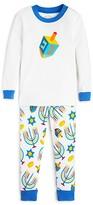 Sara's Prints Unisex Hanukkah Tight Fitting Pajama Set - Sizes 2-7