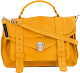 Proenza Schouler PS1 medium satchel - women - Suede - One Size
