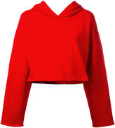 Golden Goose Deluxe Brand cropped hoodie - women - Cotton - S