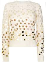 Marc Jacobs sequined open-knit sweater