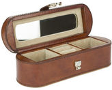 NEW Rossini Leather Leather Travel Jewellery Box