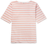 Acne Studios - Nimes Striped Cotton-jersey T-shirt