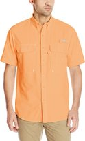 G.H. Bass Men's Explorer Charter Short Sleeve Solid Fishing Shirt, 2X-Large