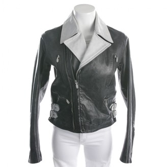 Belstaff Black Leather Jacket for Women