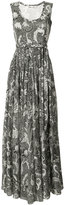 Diane von Furstenberg sleeveless maxi dress - women - Silk/Cotton/Polyester - 6