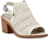 Rag & Bone Hester Lace-Up Platform Sandal, Ivory