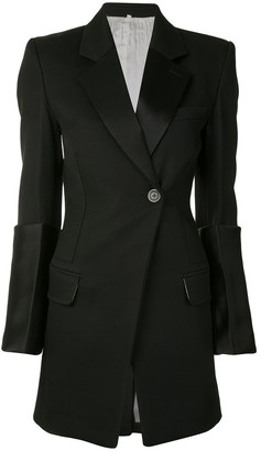 Peter Do Contrast-Cuff Wool Blazer
