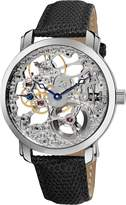 Akribos XXIV Men's AK406SS Bravura Davinci Mechanical Stainless Steel Watch