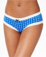Tommy Hilfiger Lace Trim Cotton Bikini R14T028