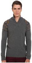 Mavi Jeans Tribal Print on Upper Arms Sweater