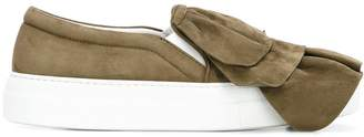 Joshua Sanders layered slip-on sneakers