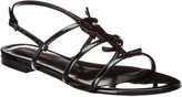 Saint Laurent Cassandra Leather Sandal