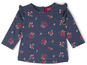 Sprout NEW Girls Long Sleeve Top Indigo