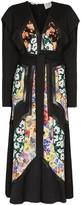 Stella McCartney Floral panel belted dress