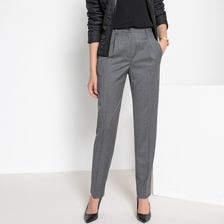 "Anne Weyburn Wool Trousers, Length 29.5"""