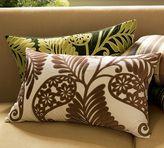 Leaf Applique Lumbar Pillow Cover
