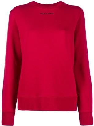 Golden Goose Slogan-Print Cotton Sweatshirt